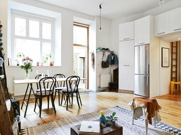 Thonet Stühle Designklassiker Mid Century Stil Wohnzimmer Esszimmer Esstisch