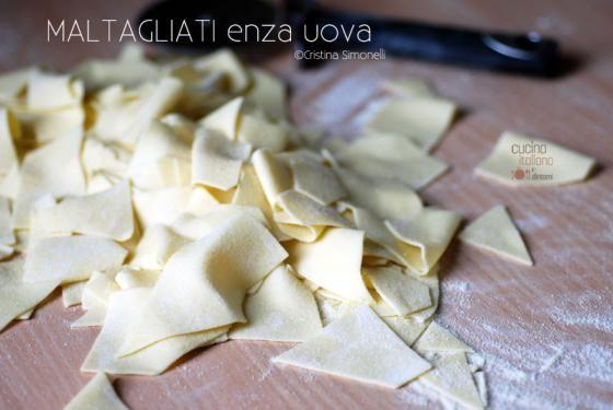 Pasta fresca: i Maltagliati senza uova