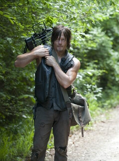 Daryl Dixon #thewalkingdead Norman Reedus. THOSE ARMS THO!!!!!
