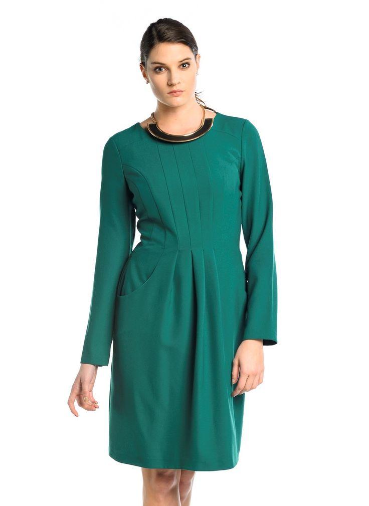 Bayan Yeşil Elbise Modelleri - http://www.gelinlikvitrini.com/bayan-yesil-elbise-modelleri/