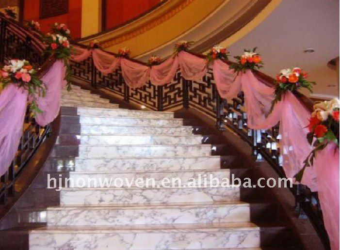 30 best staircase deco images on pinterest wedding decor glitter pink crystal organza stair ribbon for armrest organza banisters belt for wedding stair decoration buy organza stair armrest decorationorganza junglespirit Images