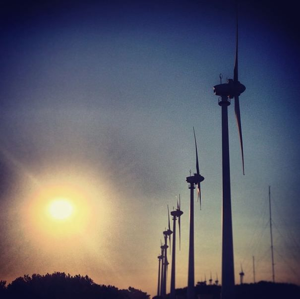 #bozcaada #sun #sky #windmill #sunset