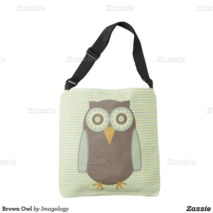 Brown Owl Tote Bag