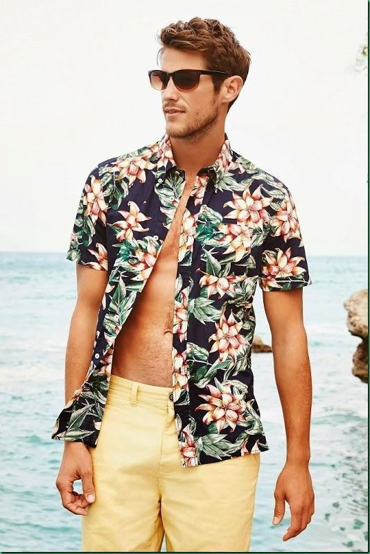 Mens Active Wear Beach Wear Mens Sportswear -summer beach outfits for men