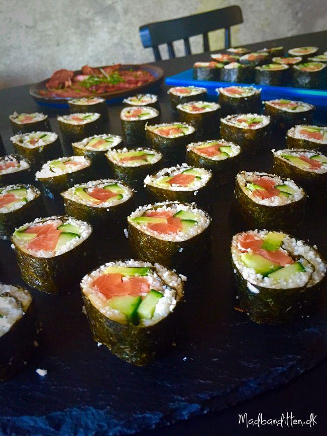 Low carb sushi uden ris --> madbanditten.dk
