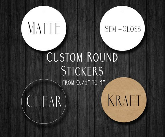 Custom round stickers custom labels round labels custom clear stickers custom stickers logo stickers from 0 75 to 3 5