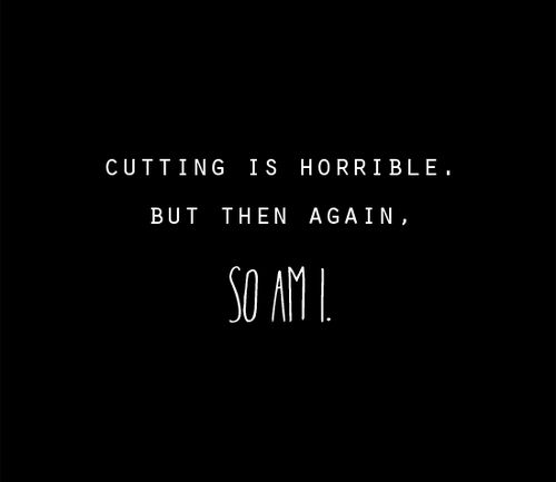Quotes About Self Harm And Depression 1000+ images about dep...