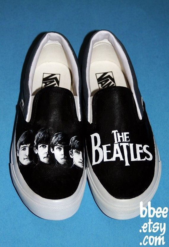 """""""With the Beatles"""" Vans"""