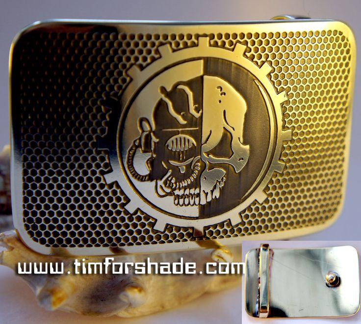 Warhammer Mechanicus 40k belt buckle by TimforShade on DeviantArt