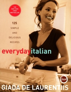 my first cookbook from my mom. I use to watch this show after school everyday!! lol funny how things work out! I never thought I would marry into an italian fam!! lol