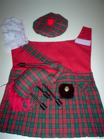 Dog Kilt Costume Great Scottish Terrier Kilt Dog Dog