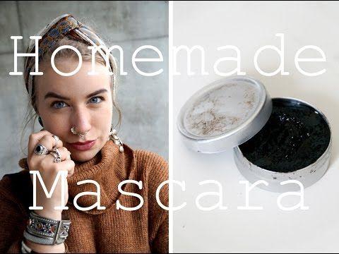 Zero Waste Homemade Mascara #makeup #diy #zerowaste #mascara