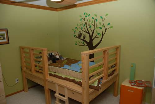 Tree House Bed how-to