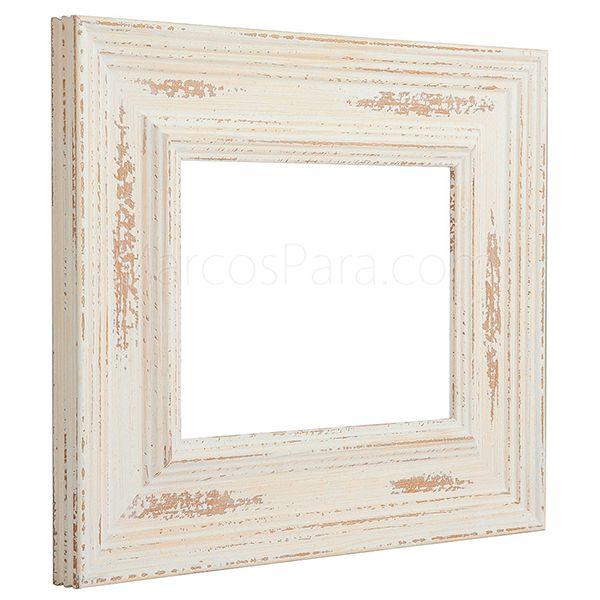 1000 images about marcos para molduras de madera y - Moldura madera pared ...