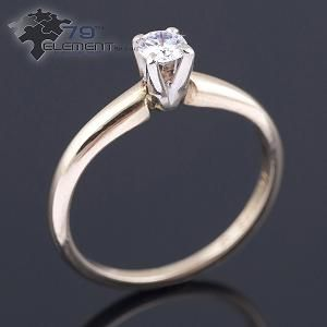 classic engagement ring 79diamenty.pl #engagementrings #yellowgold #diamond