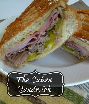 Crock pot Cuban Sandwiches - slow cooker pork roast and pressed like a panini, these are so good | Miss Information
