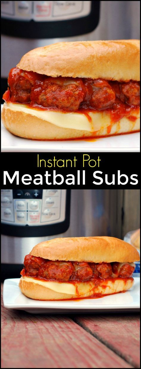 Instant Pot Meatball Subs | Aunt Bee's Recipes