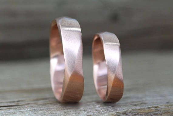 Exclusive To Benati Matching Mobius Wedding Bands A New Meaningful