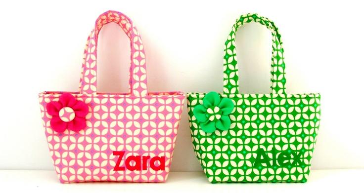 elisanna: twee kleine tasjes voor twee kleine meisjes