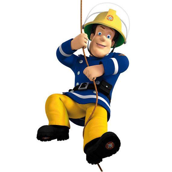 AUF den Verkauf großer Feuerwehrmann Sam von SuperTopWallDecals