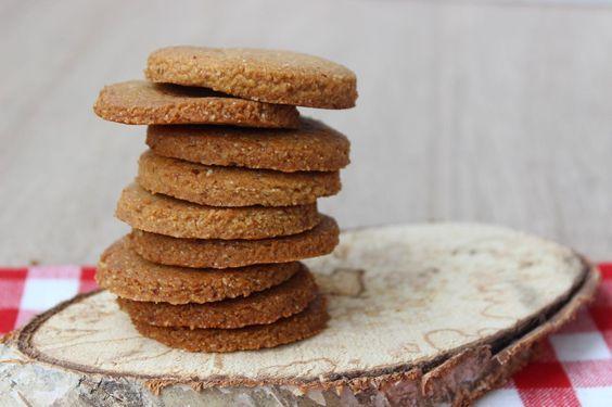Recept voor glutenvrije zandkoekjes zonder ei | eethetbeter.nl amandelmeel vervangen door kastanjemeel