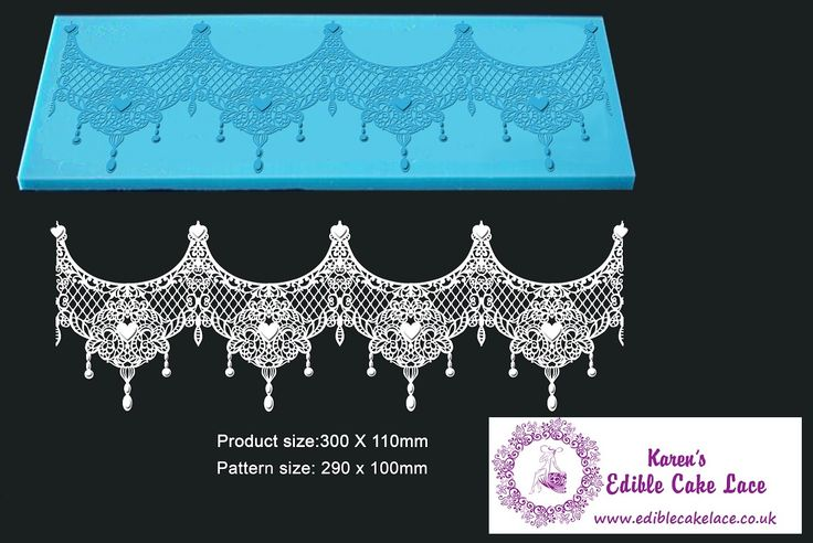 Tiffany - 3D HD Cake Lace Mat