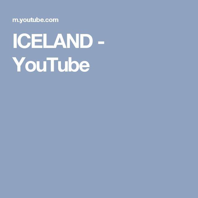 ICELAND - YouTube