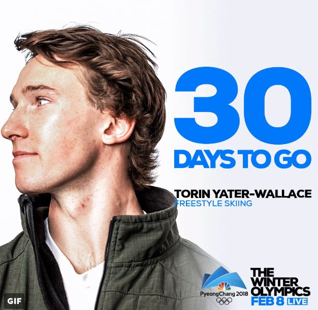 NBC Olympics  Verified account   @NBCOlympics  Jan 9 More Let the countdown begin! The #WinterOlympics are just 30 days away. #BestOfUS