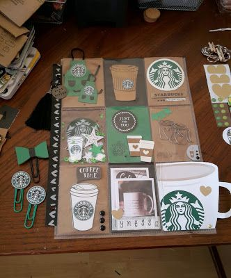 The Crafty Cupcake: Starbucks Paper Clips for Pocket Letters