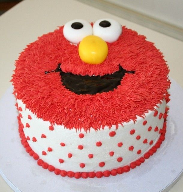 Gabby S Elmo Children S Birthday Cakes Cake Ideas