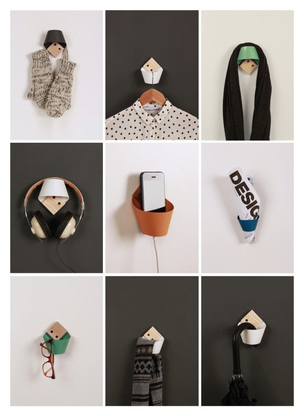 Loop: A Simple + Small Wall Hook That Holds Anything