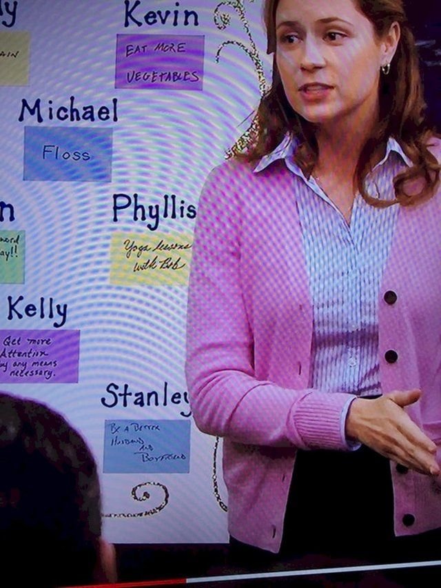 Stanley S New Year S Resolution Is Be A Better Husband And Boyfriend Dundermifflin New Years Resolution Best Husband Boyfriend