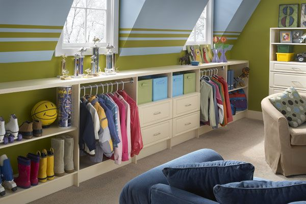 Playroom...I need a dress up area: Playrooms Ideas, Kids Playrooms, Plays Rooms, Boys Rooms, Kids Attic Bedrooms, Closet, Attic Playrooms, Storage Ideas, Kids Rooms
