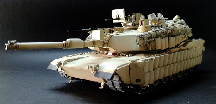 M1A2 ABRAMS TUSK II MENG 1/35
