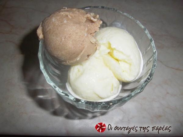 Σπιτικό Παγωτό στο χέρι από τον Άκη Πετρετζίκη #sintagespareas #pagoto