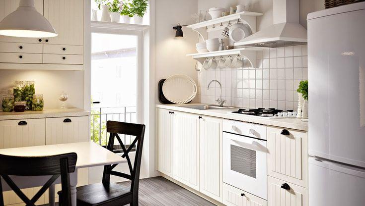 białe meble ikea  Szukaj w Google  kuchnie  Pinterest   -> Ikea Kuchnie Uchwyty