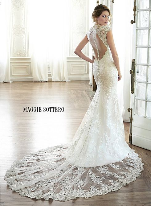 95 best Wedding dresses with Dramatic Backs images on Pinterest