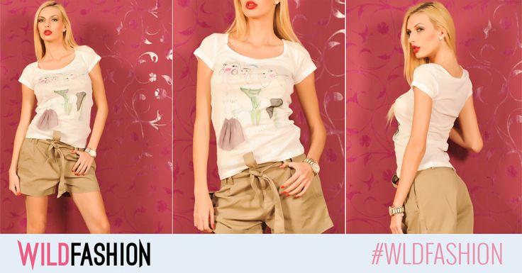 Ce ziceti de un tricoul cool, cu personalitate? E din bumbac si perfect pentru o tinuta casual, de weekend: