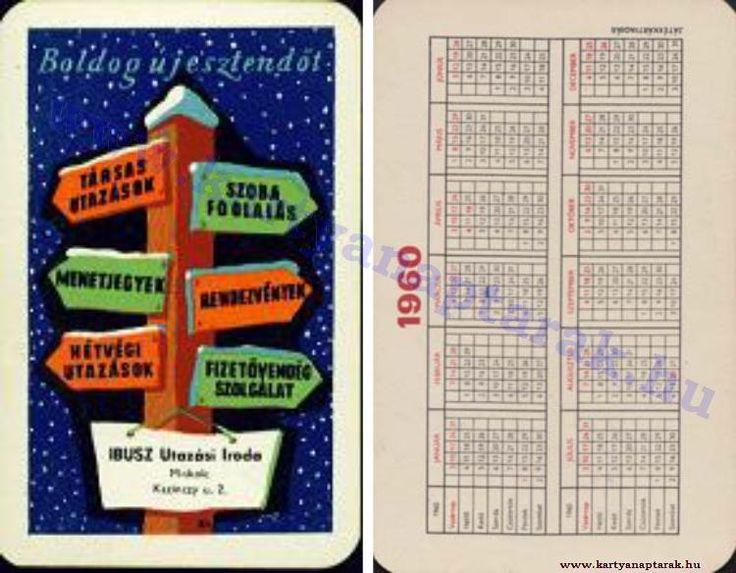 1960 - 1960_0090 - Régi magyar kártyanaptárak