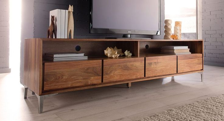 Contemporary Entertainment TV And Free Standing Units
