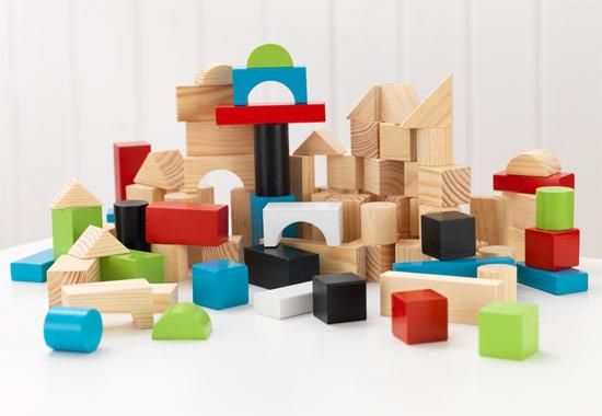 KidKraft - Wooden block set
