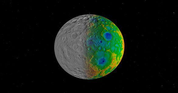 + - Lembra das luzes misteriosas em algumas das crateras do planeta anão Ceres, que embora cientistas tenham oferecido algumas explicações para elas, até hoje este mistério não foi conclusivamente solucionado? Pois é, agora Ceres nos oferece mais um mistério. Veja: Desde que a sonda Dawn da NASA começou a orbitar Ceres, as crateras do …