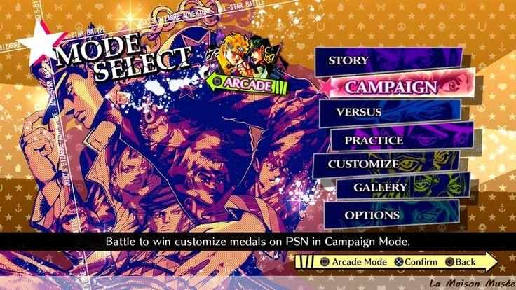 [Coup de coeur] Jojo's Bizarre Adventure All Star Battle - Du Manga au jeu de combat + Collector (PS3)  More here! http://lamaisonmusee.wordpress.com/