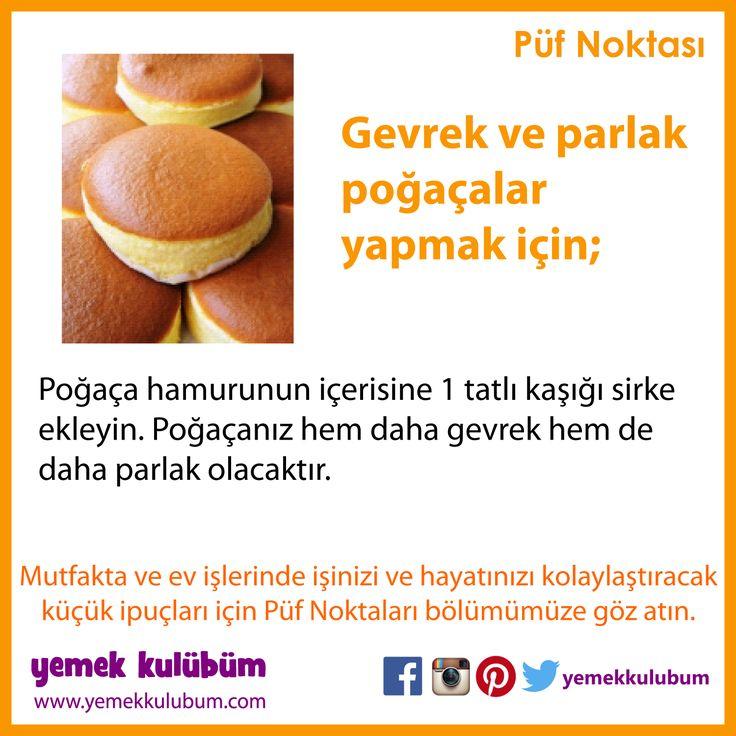 YEMEK YAPMANIN PÜF NOKTALARI : Gevrek ve parlak poğaçalar yapmak için...  http://yemekkulubum.com/puf-noktasi-liste/yemek-hazirlama-ile-ilgili-puf-noktalari  #yemek #poğaça #yemekhazırlama #peynirlipoğaça #yemekyapma #püfnoktası #kaşarlıpoğaça #susamlı #patateslipoğaça #püfnoktaları #pratikbilgiler #ipucu #ipuçları