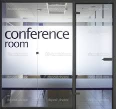 frosted glass office door. frosted glass conference room still see someone in but not faces for privacy office door