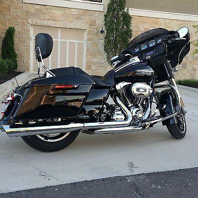 eBay: Harley-Davidson: Touring 2014 vivid black harley ...