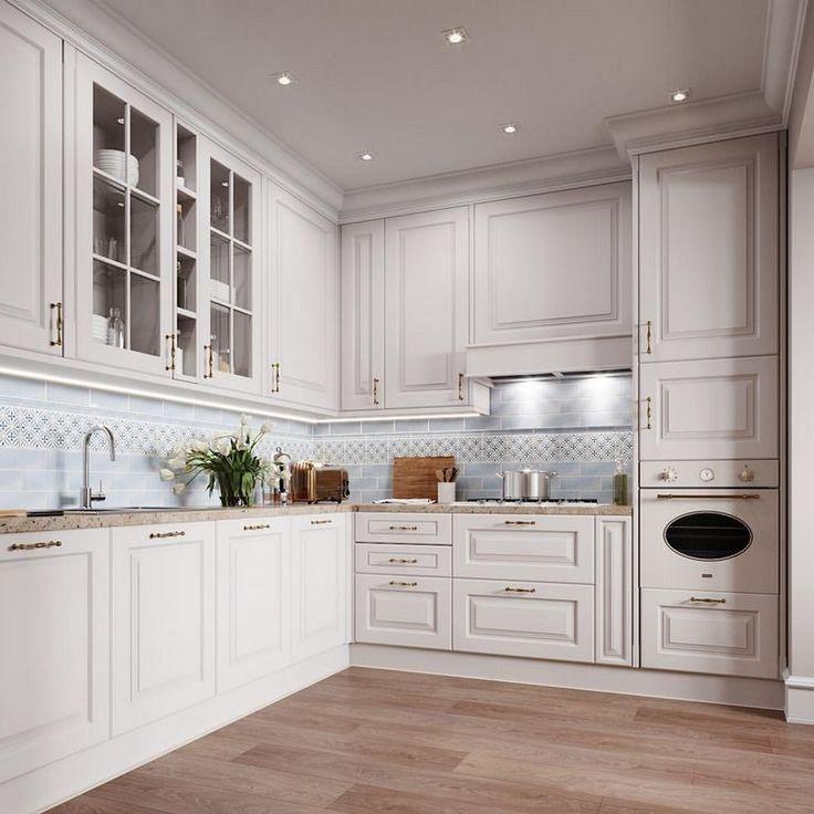 Best 80 Innovative White Kitchen Cabinet Design Ideas 53 400 x 300