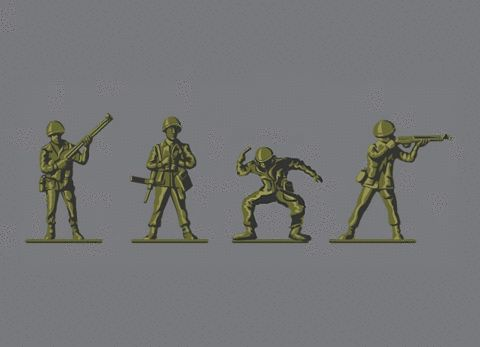 soldiers / toys