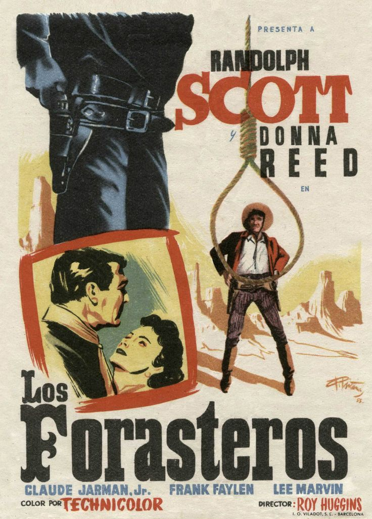 1952 - Los forasteros - Hangman's Knot - Roy Huggins - tt0044683