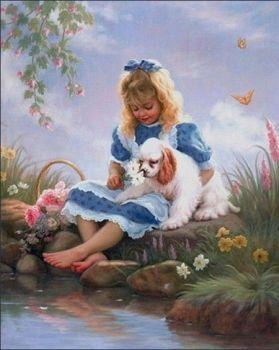 Zoé et son petit chien (63 pieces)